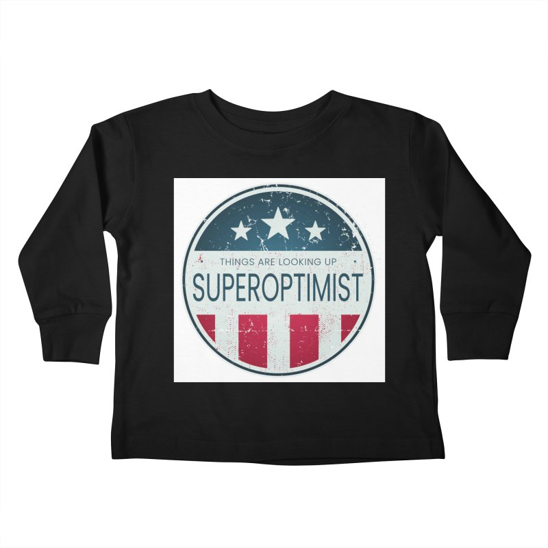 America the Positive Kids Toddler Longsleeve T-Shirt by SuperOpt Shop