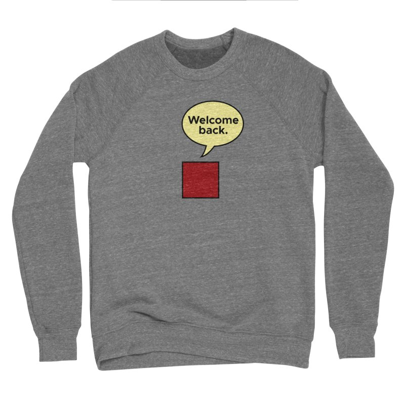 Greetings from Square One. Men's Sweatshirt by SuperOpt Shop