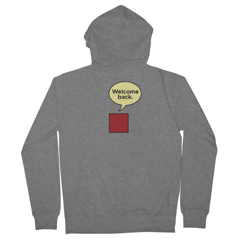 Greetings from Square One. Women's Zip-Up Hoody by SuperOpt Shop