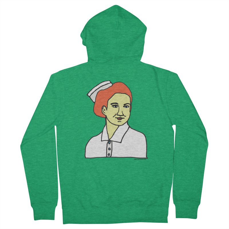 Nurse Nightsby Women's French Terry Zip-Up Hoody by SuperOpt Shop