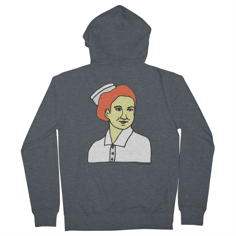 Nurse Nightsby Men's French Terry Zip-Up Hoody by SuperOpt Shop