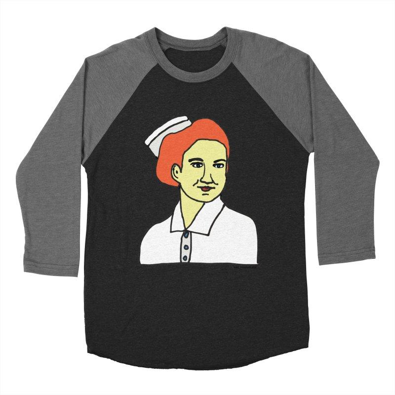 Nurse Nightsby Women's Baseball Triblend Longsleeve T-Shirt by SuperOpt Shop