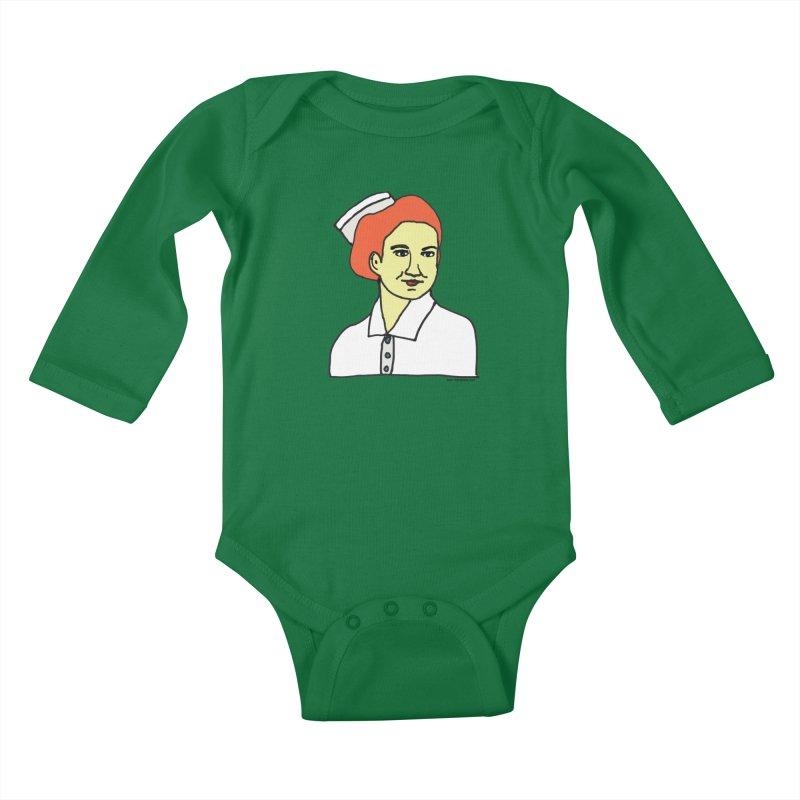 Nurse Nightsby Kids Baby Longsleeve Bodysuit by SuperOpt Shop