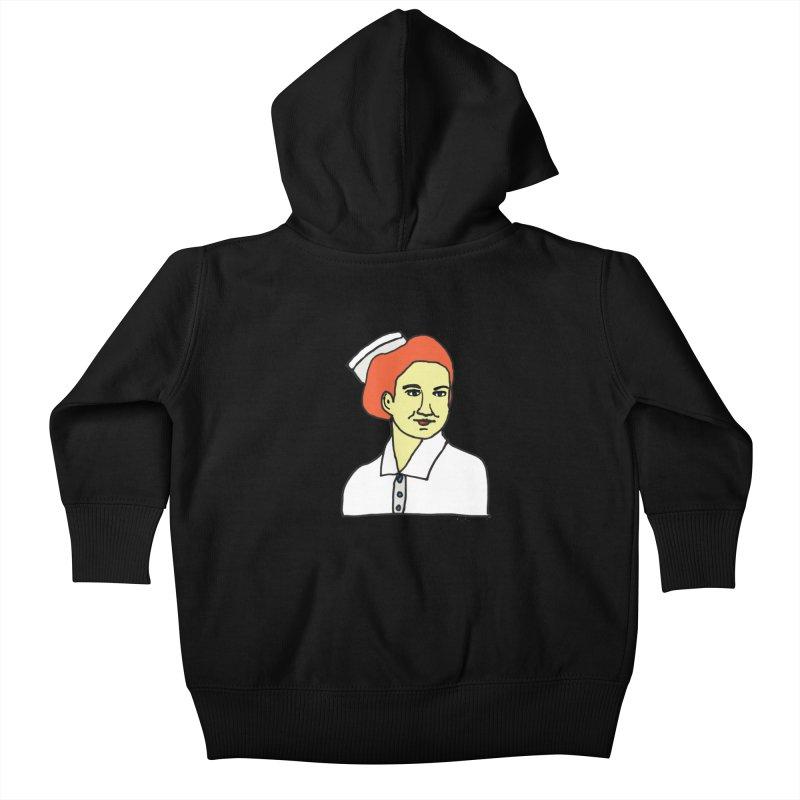 Nurse Nightsby Kids Baby Zip-Up Hoody by SuperOpt Shop