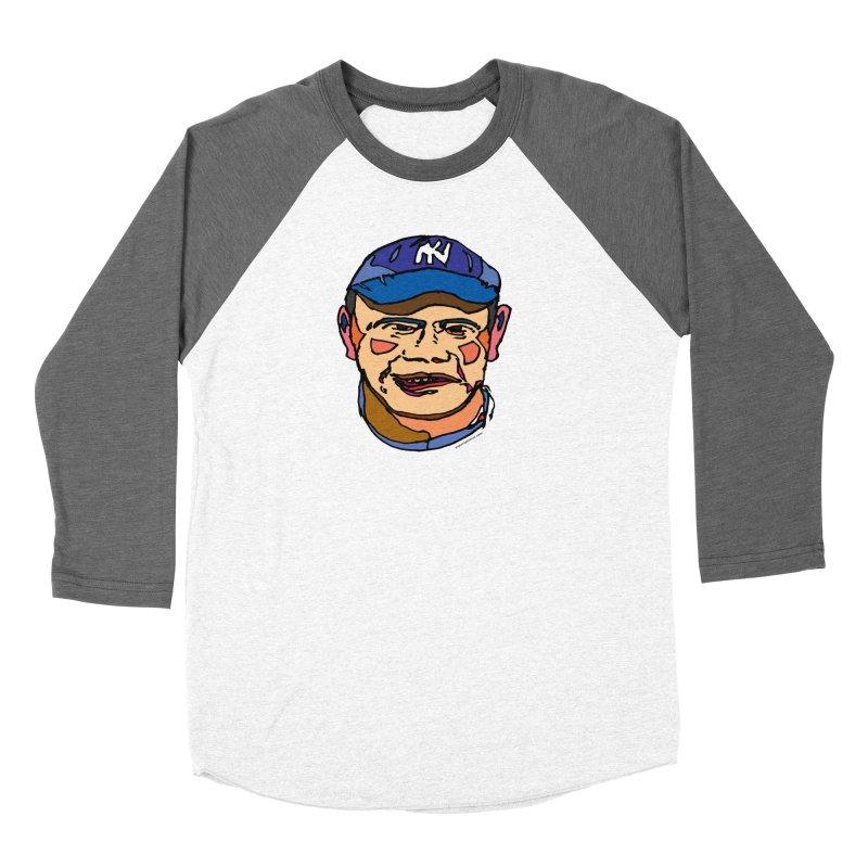 Bambino Men's Baseball Triblend Longsleeve T-Shirt by SuperOpt Shop