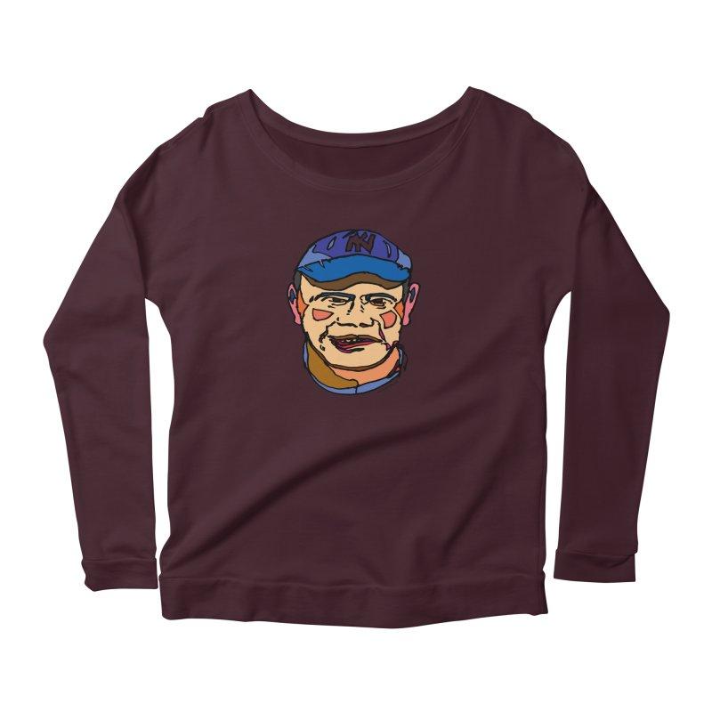 Bambino Women's Scoop Neck Longsleeve T-Shirt by SuperOpt Shop
