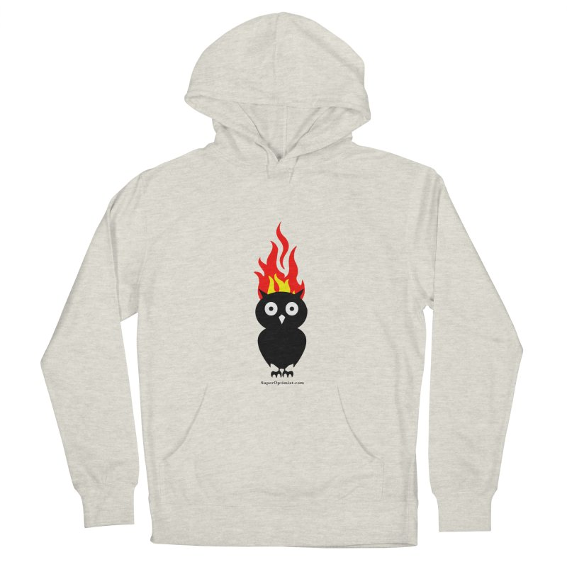 Brainstorm Women's French Terry Pullover Hoody by SuperOpt Shop