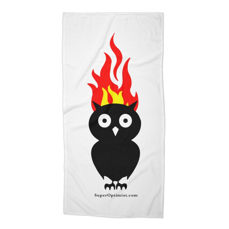 Brainstorm Accessories Beach Towel by SuperOpt Shop