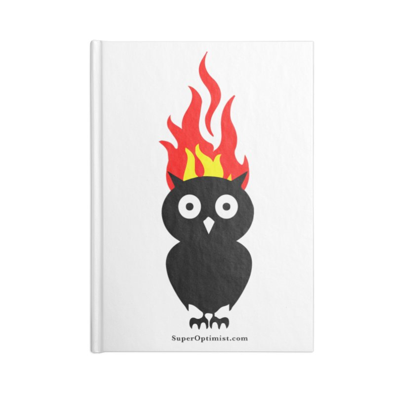 Brainstorm Accessories Lined Journal Notebook by SuperOpt Shop