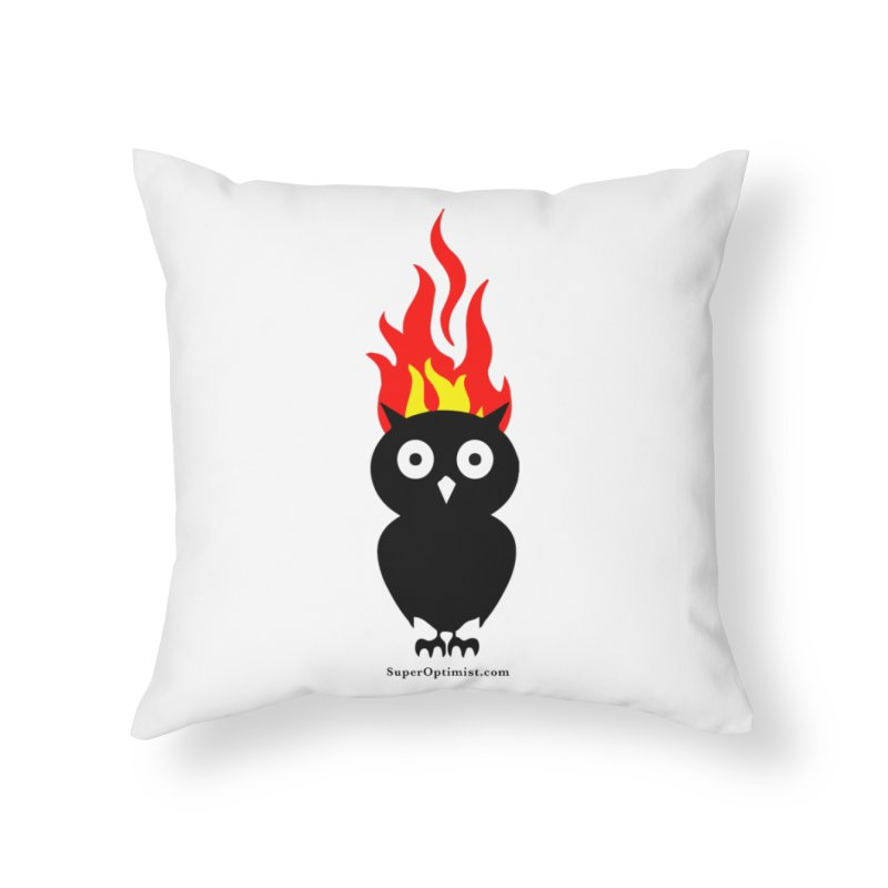 Brainstorm Home Throw Pillow by SuperOpt Shop