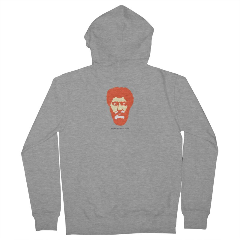 O.G. Marcus Aurelius Women's French Terry Zip-Up Hoody by SuperOpt Shop