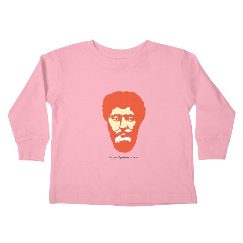 O.G. Marcus Aurelius Kids Toddler Longsleeve T-Shirt by SuperOpt Shop