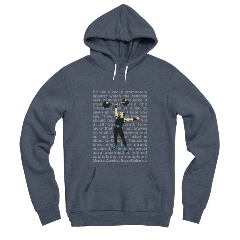 Rocky Men's Sponge Fleece Pullover Hoody by SuperOpt Shop