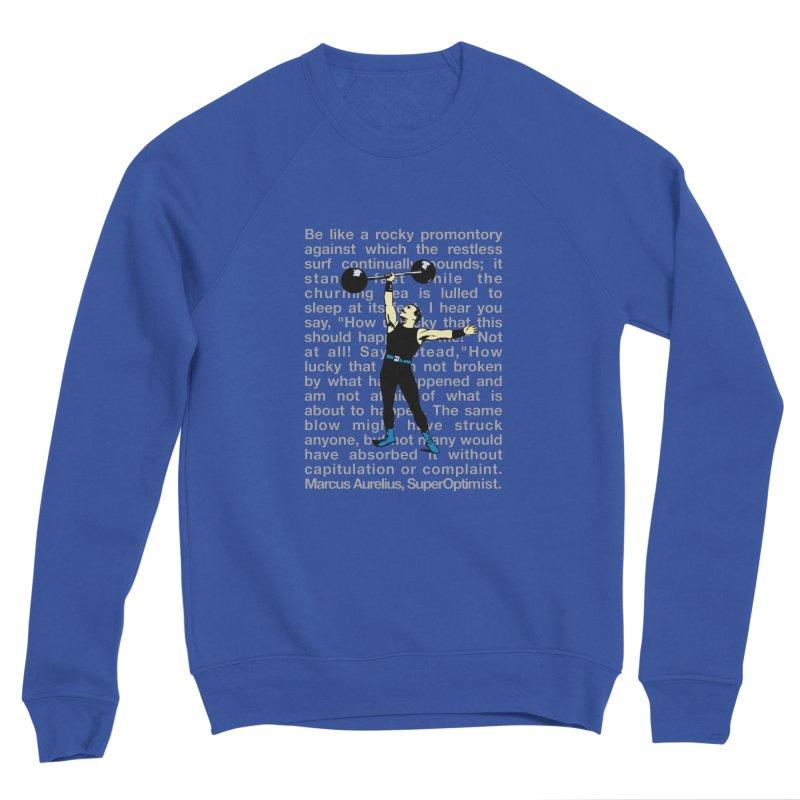 Rocky Men's Sponge Fleece Sweatshirt by SuperOpt Shop
