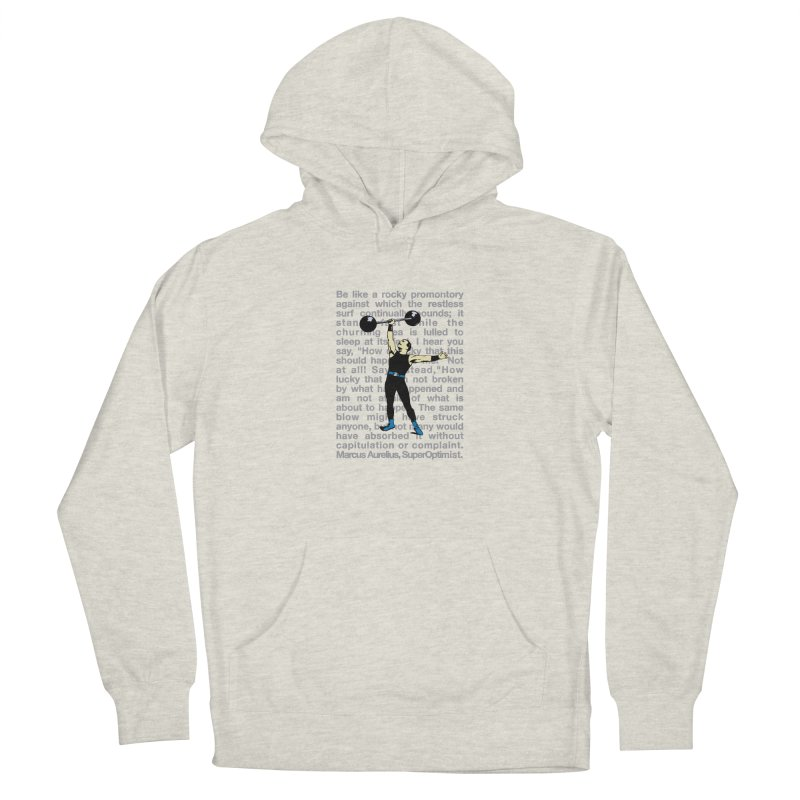 Rocky Men's Pullover Hoody by SuperOpt Shop