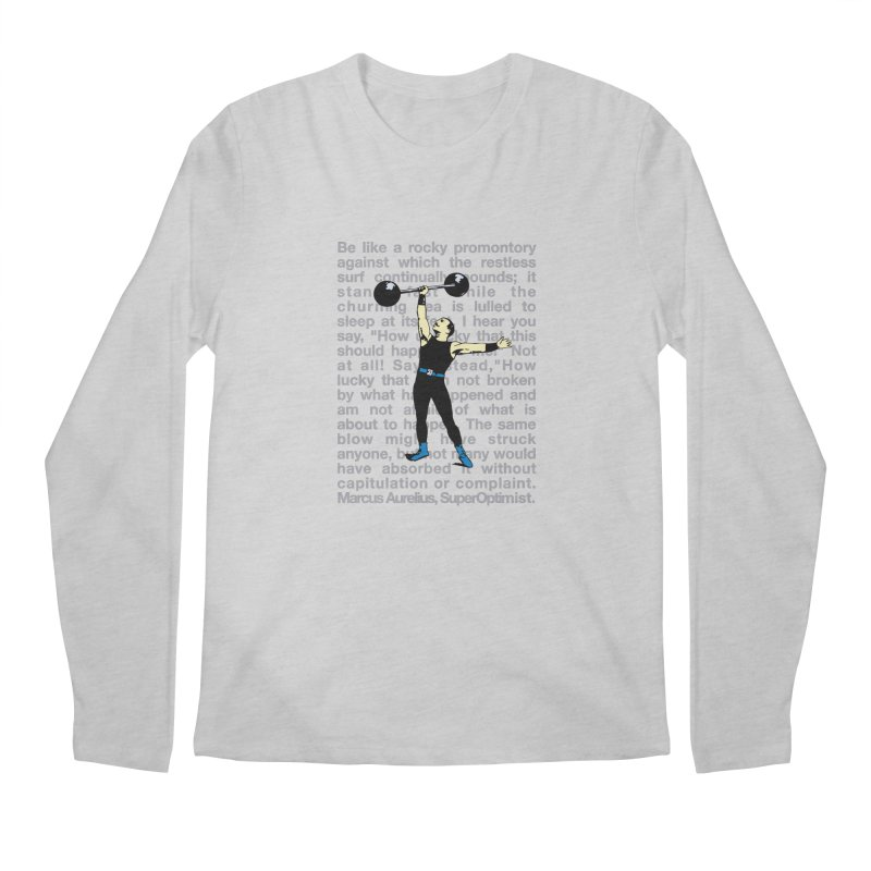 Rocky Men's Regular Longsleeve T-Shirt by SuperOpt Shop