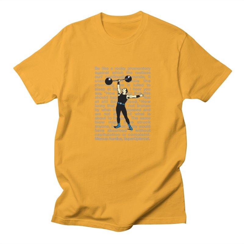 Rocky Men's Regular T-Shirt by SuperOpt Shop