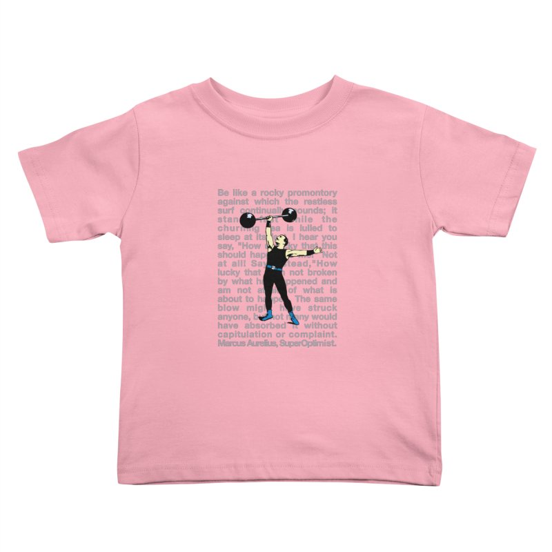 Rocky Kids Toddler T-Shirt by SuperOpt Shop