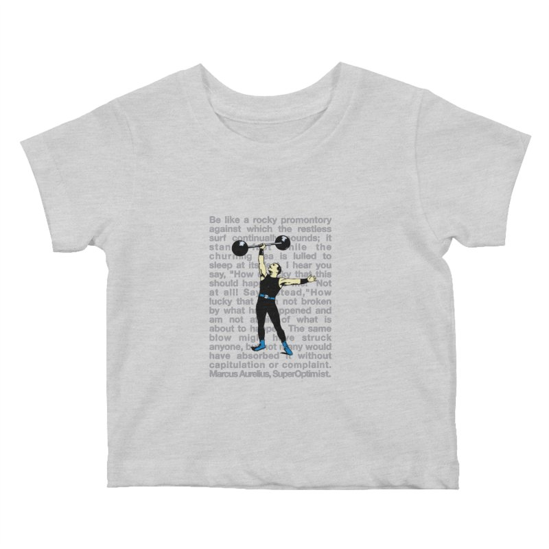 Rocky Kids Baby T-Shirt by SuperOpt Shop