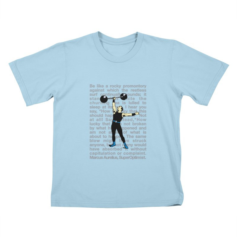 Rocky Kids T-Shirt by SuperOpt Shop