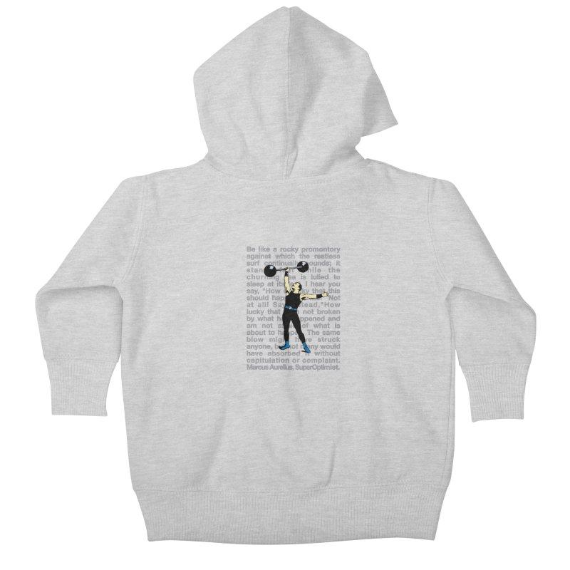 Rocky Kids Baby Zip-Up Hoody by SuperOpt Shop