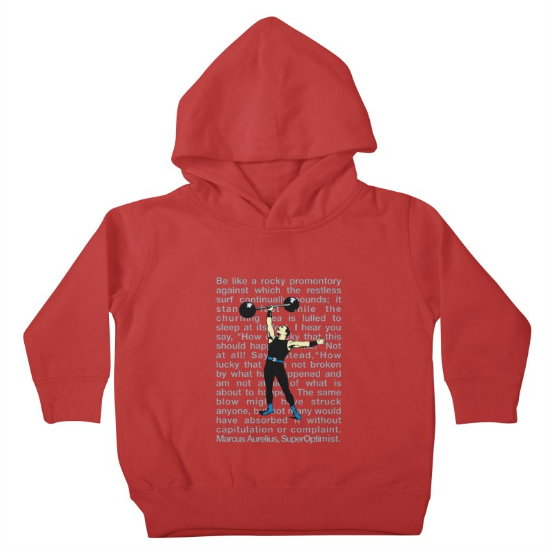 Rocky Kids Toddler Pullover Hoody by SuperOpt Shop