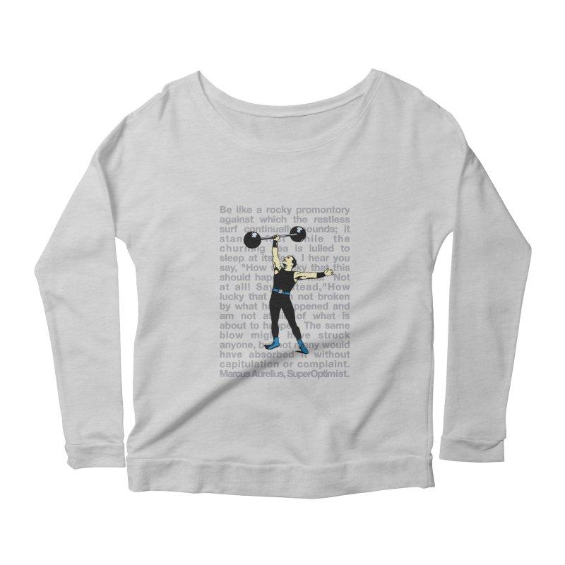 Rocky Women's Scoop Neck Longsleeve T-Shirt by SuperOpt Shop