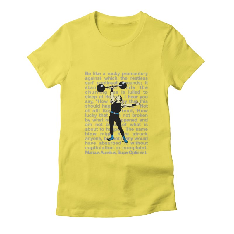 Rocky Women's Fitted T-Shirt by SuperOpt Shop