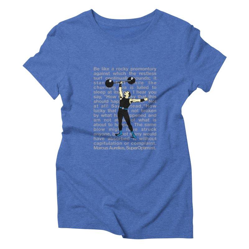 Rocky Women's Triblend T-Shirt by SuperOpt Shop