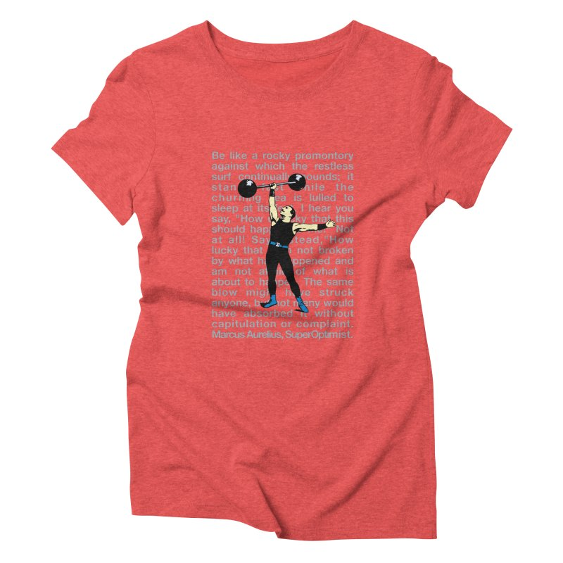 Rocky Women's Triblend T-Shirt by SuperOpt Shop