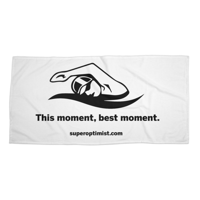 Deep Water Accessories Beach Towel by SuperOpt Shop