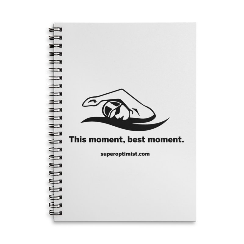 Deep Water Accessories Lined Spiral Notebook by SuperOpt Shop