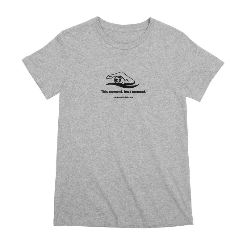 Deep Water Women's Premium T-Shirt by SuperOpt Shop