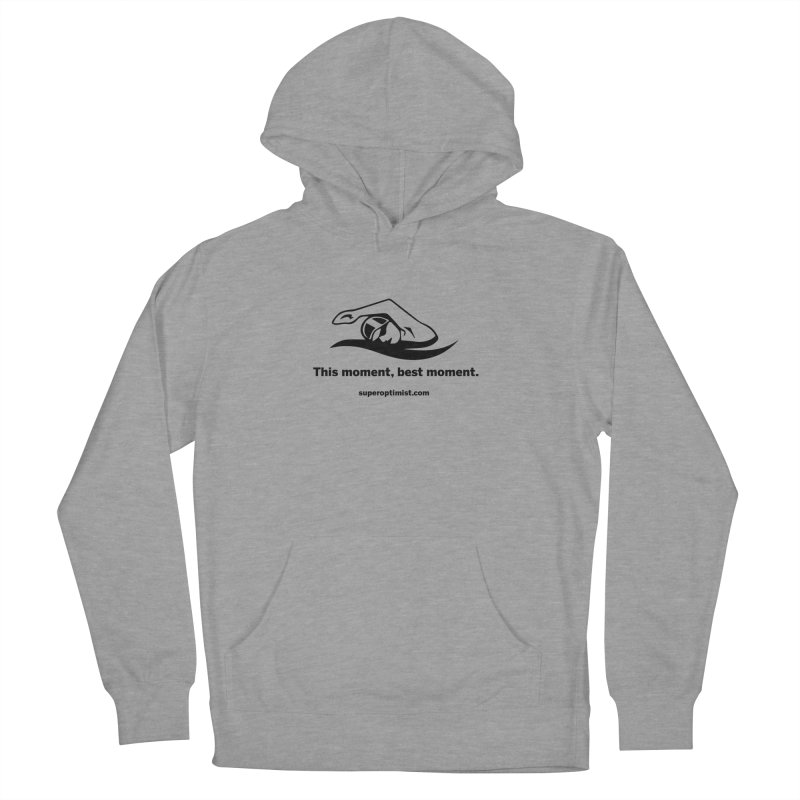 Deep Water Women's French Terry Pullover Hoody by SuperOpt Shop