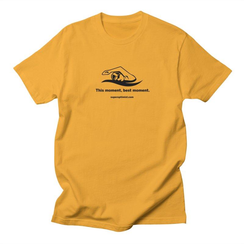 Deep Water Men's Regular T-Shirt by SuperOpt Shop