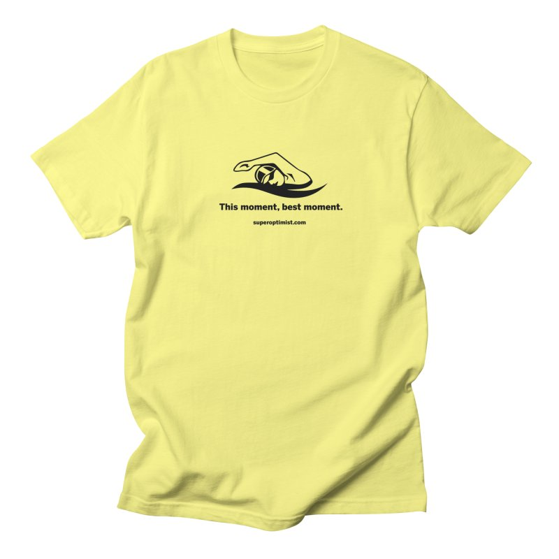 Deep Water Men's Regular T-Shirt by SuperOpt Shop