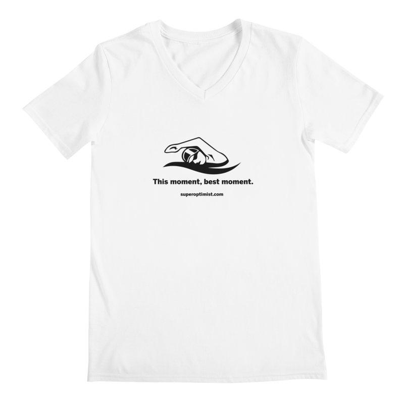 Deep Water Men's Regular V-Neck by SuperOpt Shop