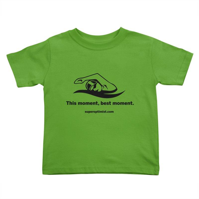 Deep Water Kids Toddler T-Shirt by SuperOpt Shop