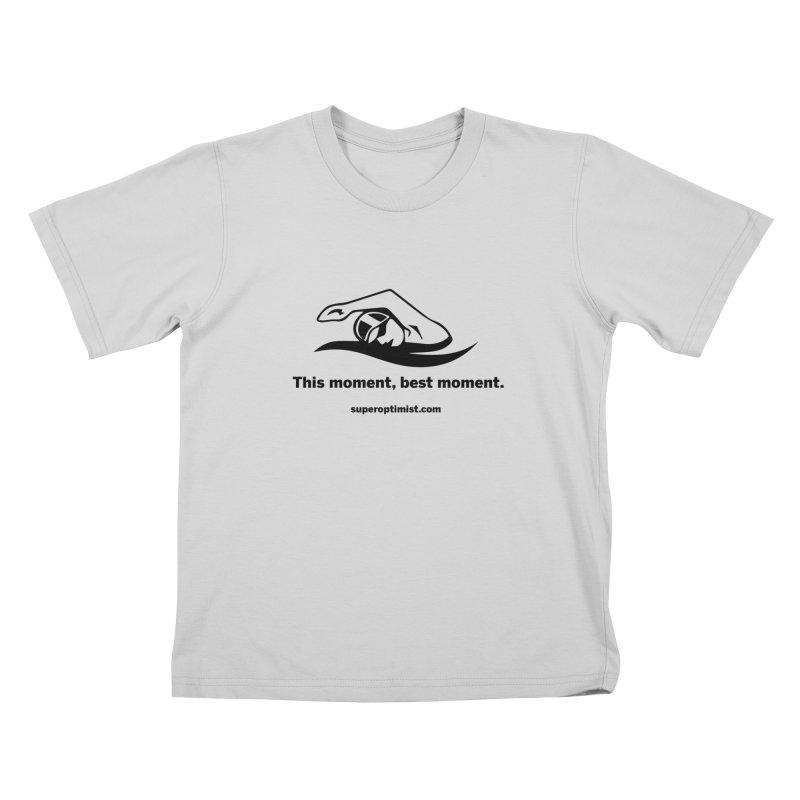 Deep Water Kids T-Shirt by SuperOpt Shop