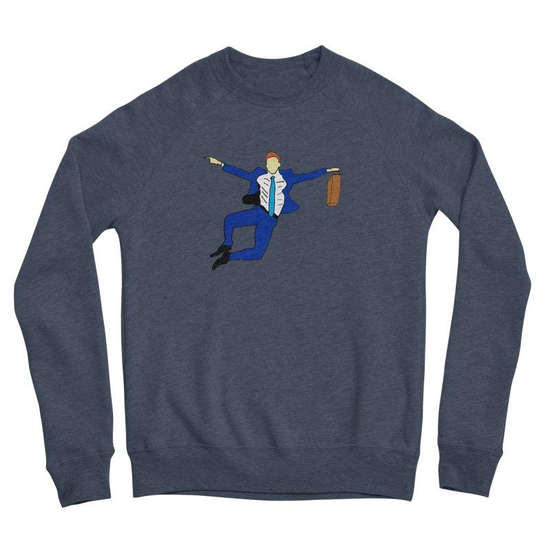 Happy Monday Women's Sponge Fleece Sweatshirt by SuperOpt Shop