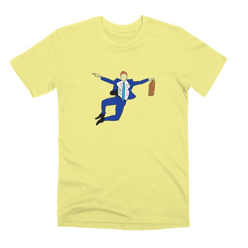 Happy Monday Men's Premium T-Shirt by SuperOpt Shop