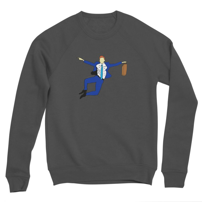 Happy Monday Men's Sponge Fleece Sweatshirt by SuperOpt Shop