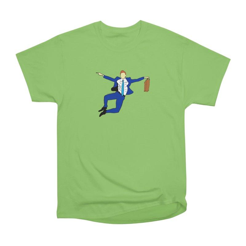 Happy Monday Women's Heavyweight Unisex T-Shirt by SuperOpt Shop