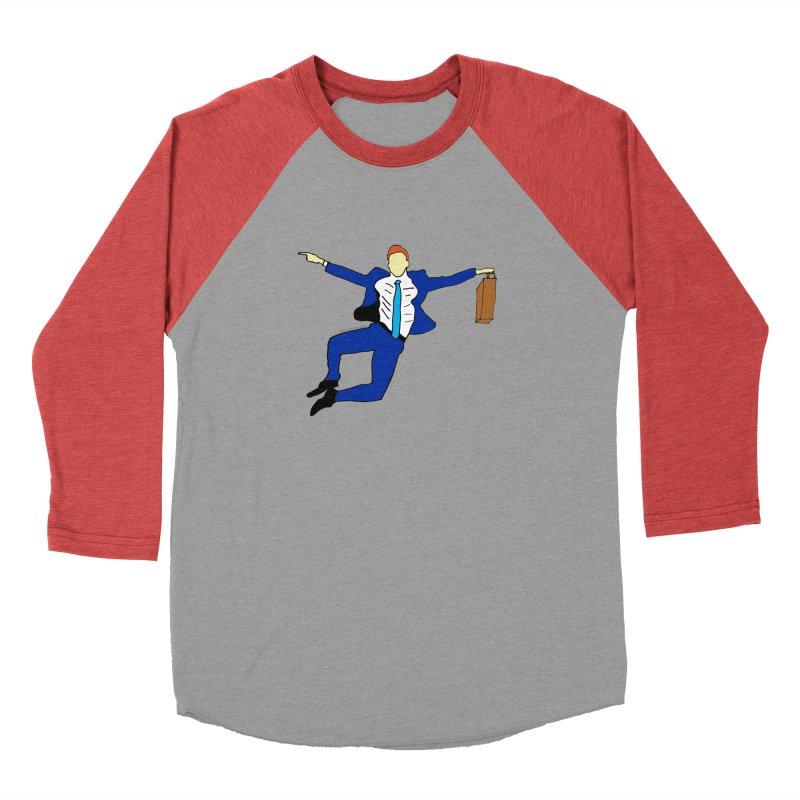 Happy Monday Women's Baseball Triblend Longsleeve T-Shirt by SuperOpt Shop