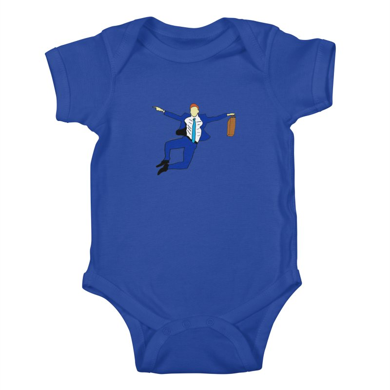 Happy Monday Kids Baby Bodysuit by SuperOpt Shop