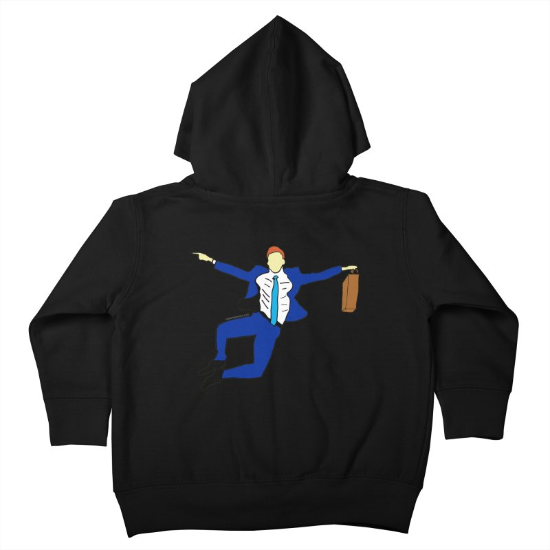 Happy Monday Kids Toddler Zip-Up Hoody by SuperOpt Shop