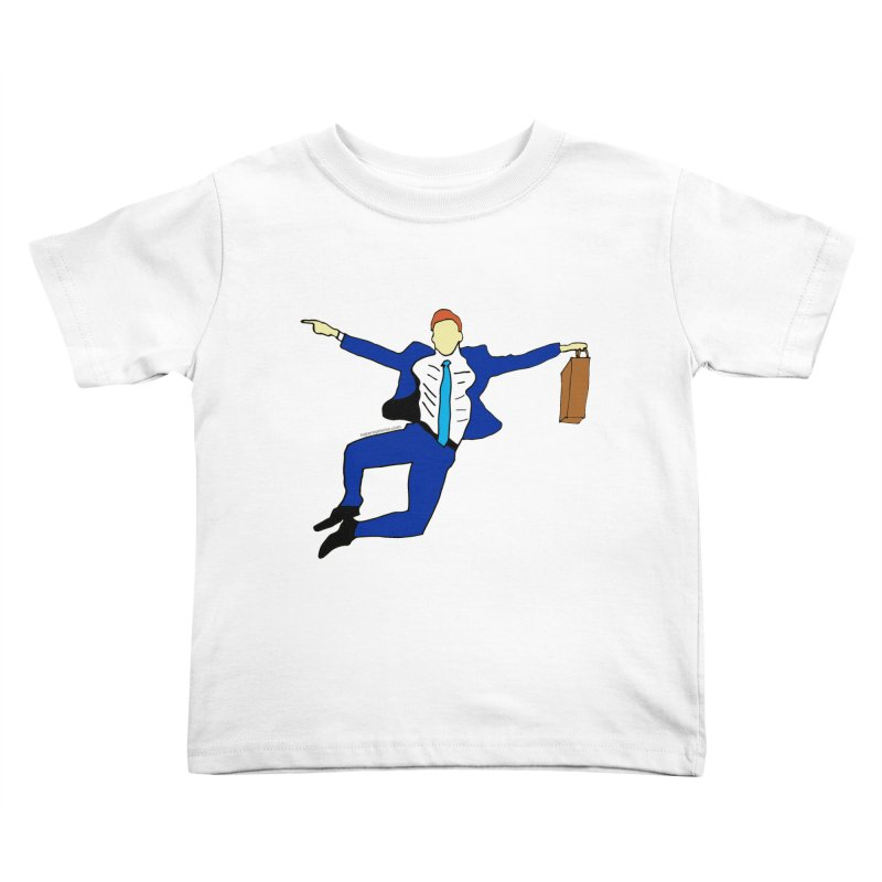 Happy Monday Kids Toddler T-Shirt by SuperOpt Shop