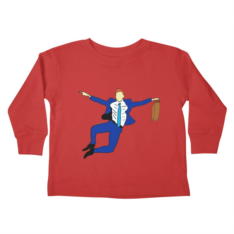 Happy Monday Kids Toddler Longsleeve T-Shirt by SuperOpt Shop