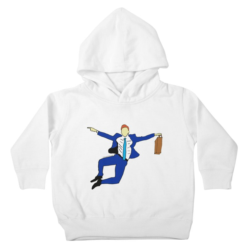 Happy Monday Kids Toddler Pullover Hoody by SuperOpt Shop