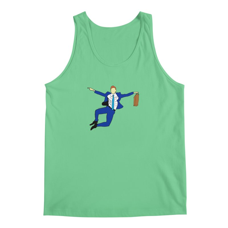 Happy Monday Men's Regular Tank by SuperOpt Shop